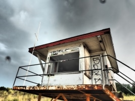 Wachtturm bei Usedom