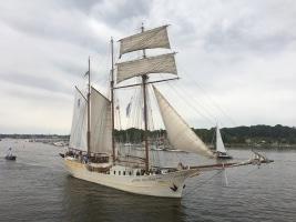 Windjammer bei Rostock