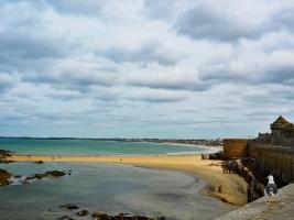 Bretagne Saint-Malo Stadt