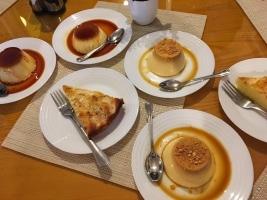 Dessert im Restaurant Argovia in Tetouan