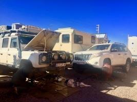 Garagenbetrieb In der Wüste