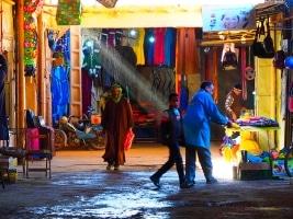 Souk in Marokko