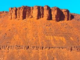Das Gebirge in Marokko