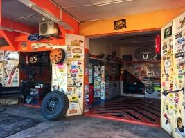 Die Garage von Ali Nassir in Zagora