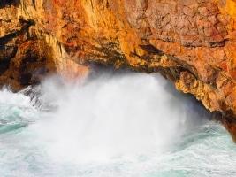 Tosende See in der Algarve