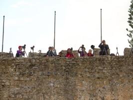 Obidos' Mauern