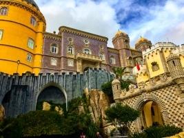 Das märchenhafte Schloss in Sintra