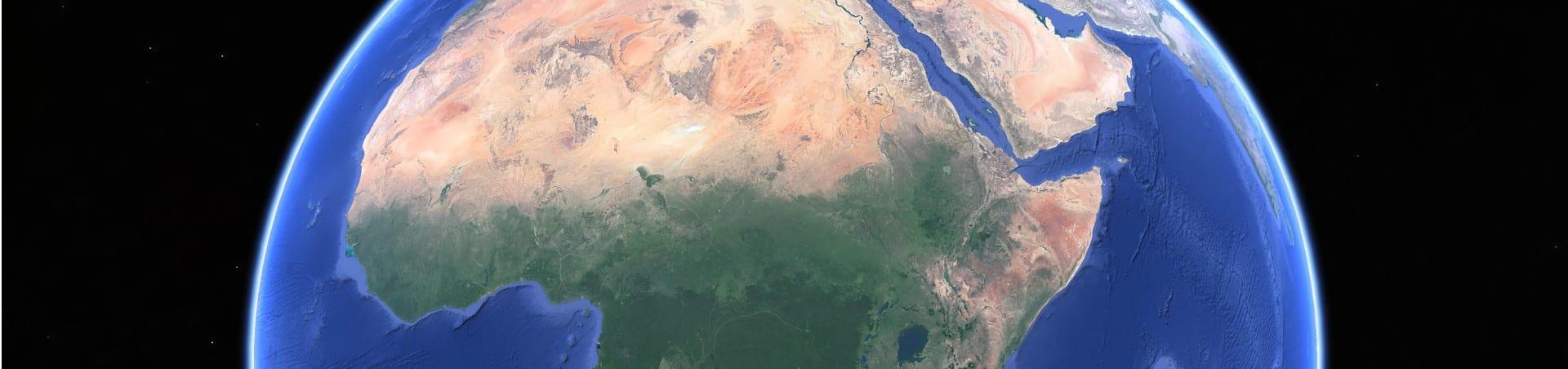 Afrika aus dem All