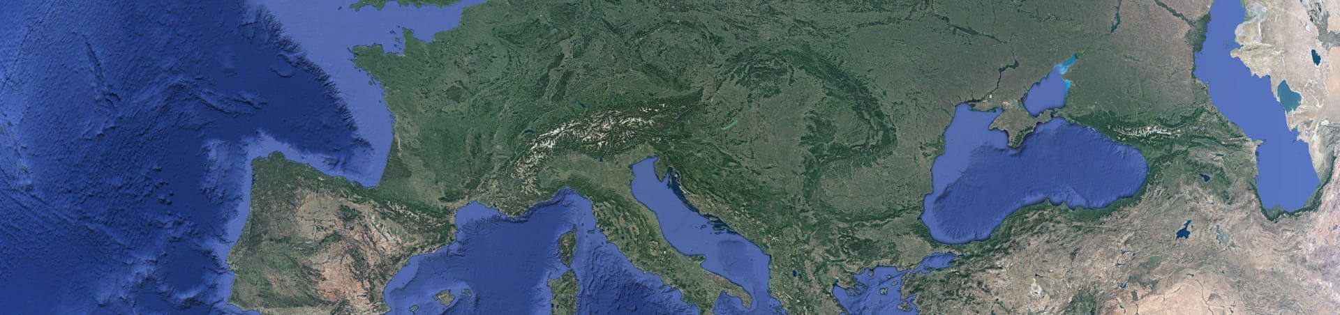 Europa aus dem All