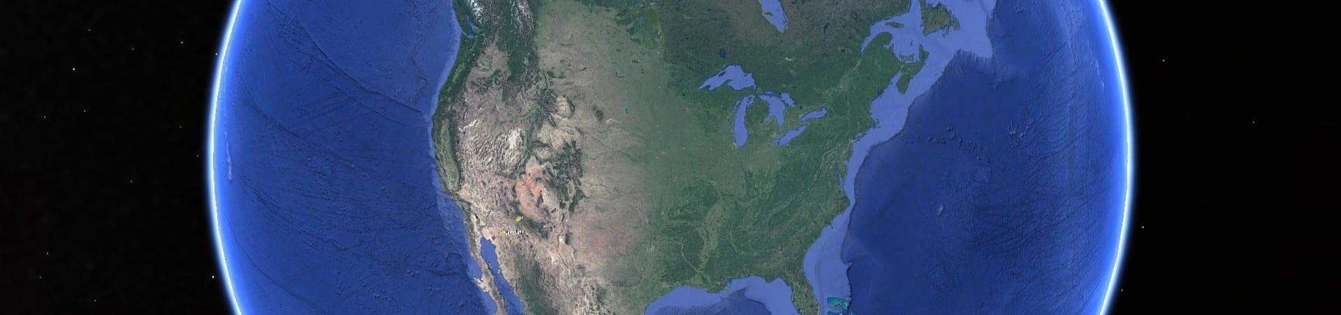 Nordamerika aus dem All